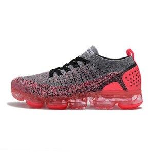Chaussures de course pour hommes 2.0 vapormax moc respirant plein air coussin haute élastique sports plein air coloré grande taille max