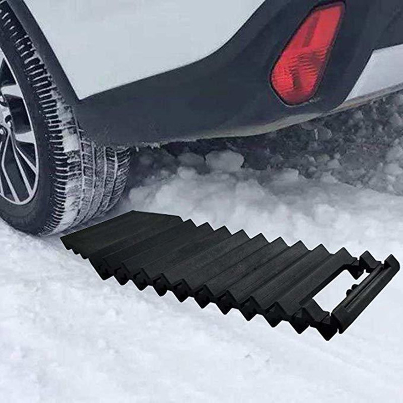 TOP -Multi Purpose Car Anti-Skid Chains Sand Pass Tire Pads Car Ice Scraper Snow Shovel Winter Tyre Wheel Non Slip Belt Pad
