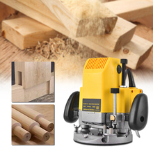 Wood Router Trimmer Milling-Machine Slotting Notching 220V