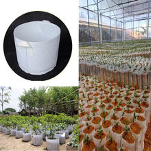 15pcs Non-woven Plant Seedling Grow Bags Pot Home Garden Too