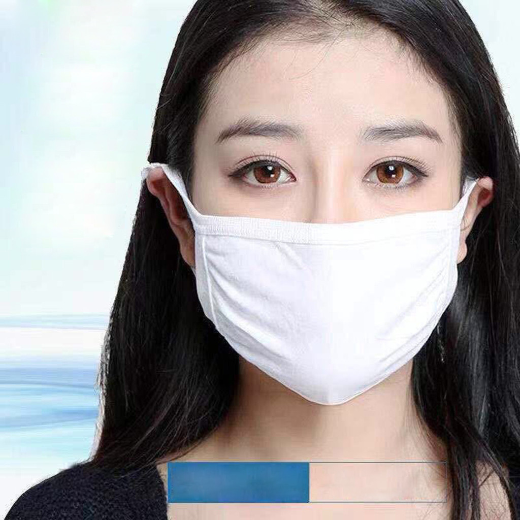 Unisex PM2.5 Anti-dust Reusable Cotton Mouth Face Masks Mouth Cover 5PCS Anti-Radiation Mask Mouth-muffle Mascarillas Respirator