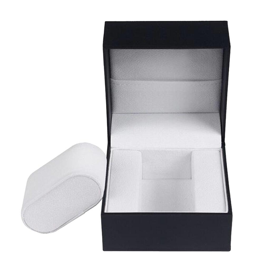 Luxury Single Watch Box Storage Case Wristwatch Package Display 10x10x7.5cm