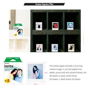 Image 3 - Bộ Máy Chụp Ảnh Lấy Ngay Fujifilm Instax Vuông Phim 30 Tờ Trắng Đen Ngay Bộ Phim Giấy In Cho Máy Ảnh Fujifilm Instax SQUARE SQ20 SQ10 SQ6 Chia Sẻ SP 3 sq