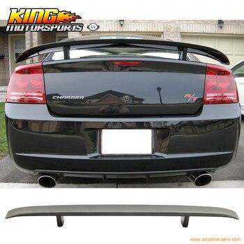 Misura Per 06-10 Dodge Charger ABS Posteriore del Tronco Spoiler 06 07 08 nero Opaco King Motorsports