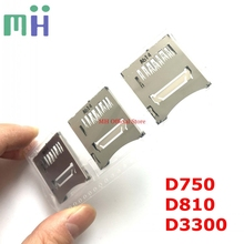 NEW Original SD Memory Card Slot Reader Assembly For Nikon D750 D3300 D810 Camera Replacement Spare Part