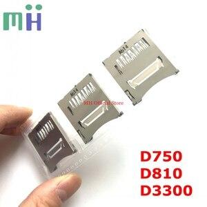 Image 1 - חדש מקורי SD זיכרון כרטיס חריץ קורא הרכבה עבור ניקון D750 D3300 D810 מצלמה החלפת חילוף חלק