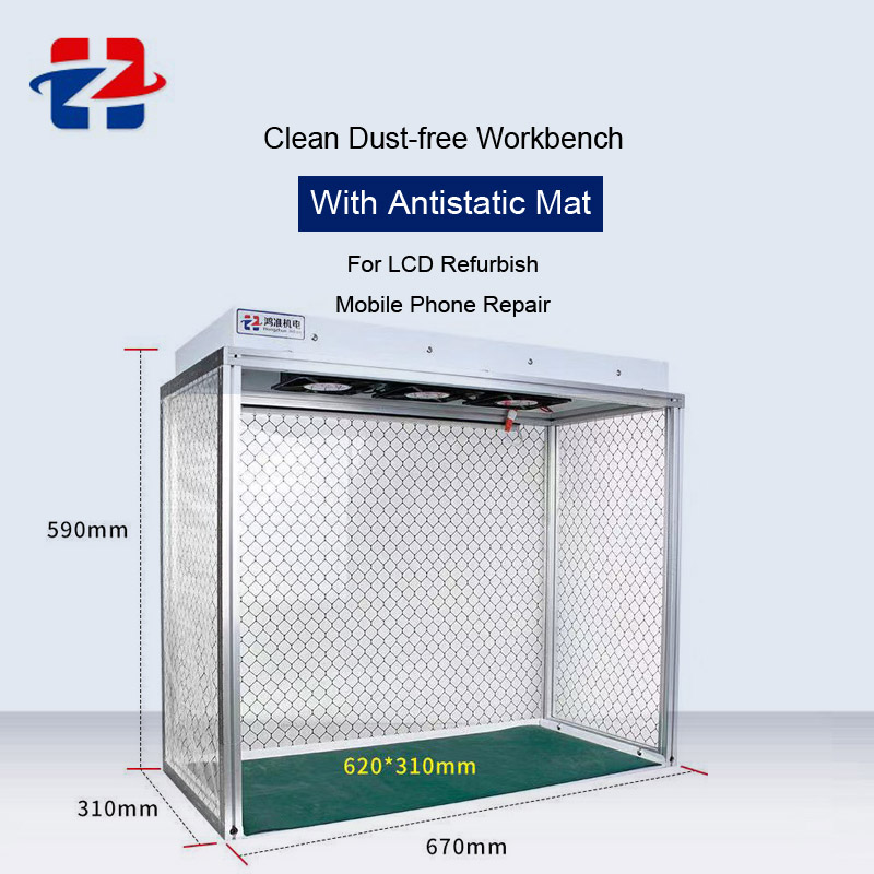 Aletler'ten Elektrikli Alet Setleri'de Anti statik temiz tozsuz oda tezgah temizleme çalışma odası LCD yenilemek için telefon tamir tezgahı antistatik Mat title=