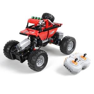 Image 3 - Monsters Bigfoot Camion Technic SUV RC Modello di Auto Building Block di Sport 2.4G Radio Giocattoli di Controllo Per I Bambini