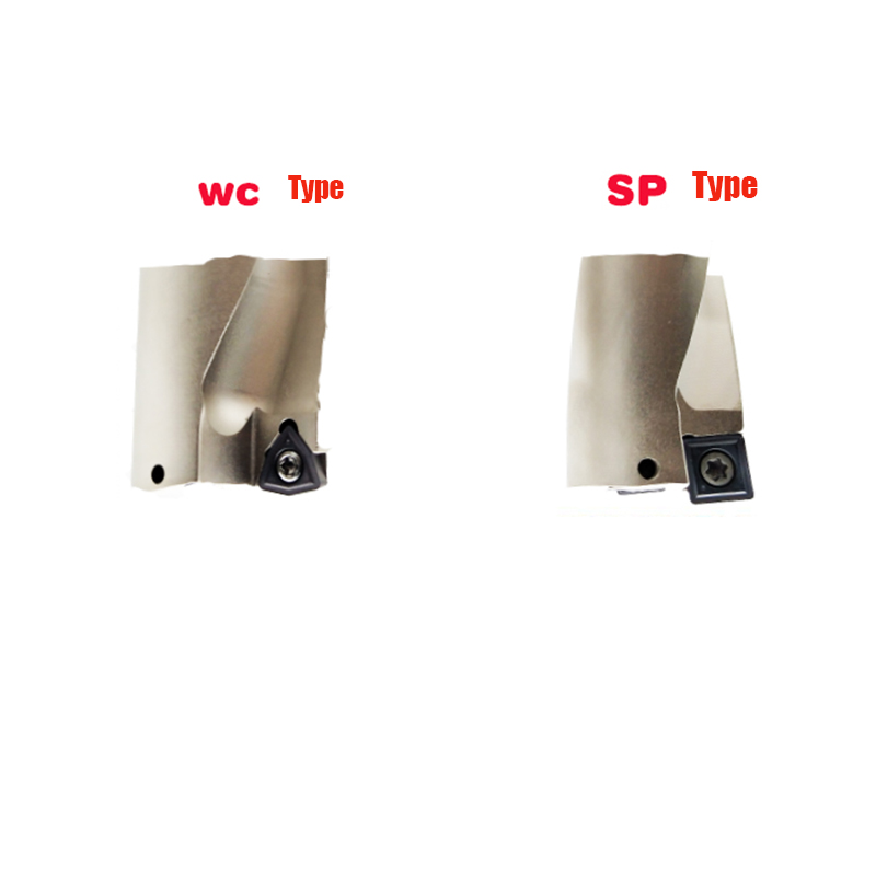 Купить с кэшбэком WC series U drill,fast drill,25-30.5mm 3D depth, Shallow Hole dril,for Each brand WC series blade,Machinery,Lathes,CNC