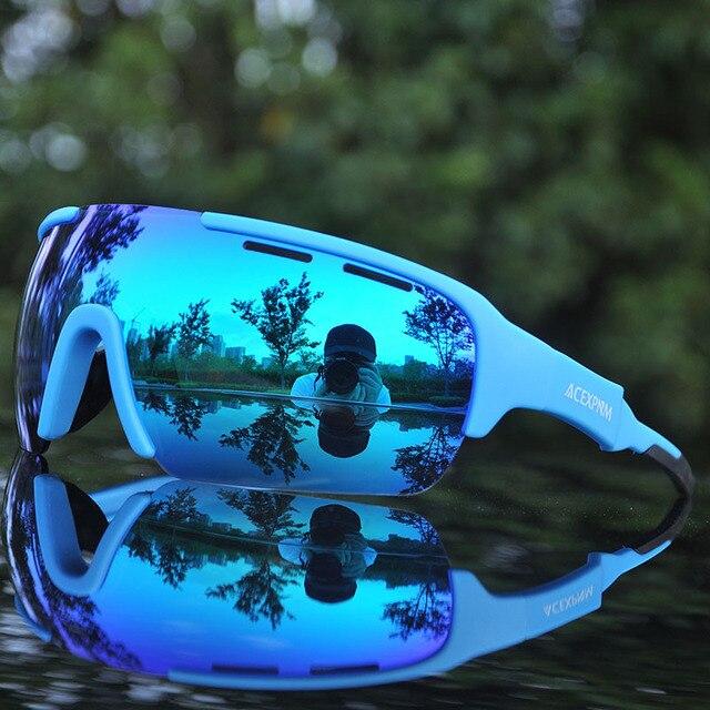 2020 homem polarizado ciclismo óculos de ciclismo bicicleta ciclismo óculos de sol esporte ciclismo uv400 esportes 5