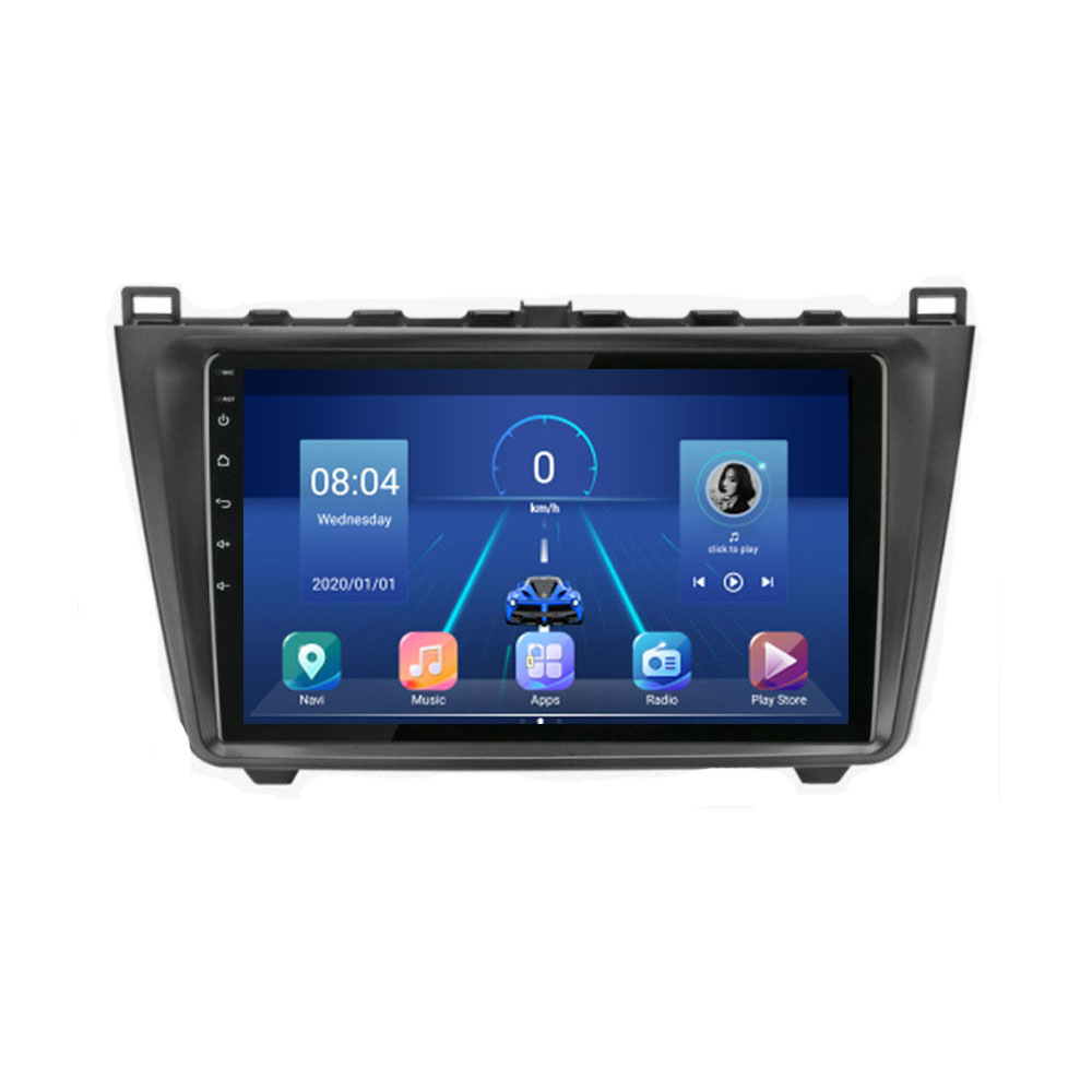 4G LTE Android 10.1 For <font><b>Mazda</b></font> <font><b>6</b></font> Rui wing 2008 2009 2010 2011 2012 2013 2014 Multimedia Car DVD Player Navigation <font><b>GPS</b></font> Radio image