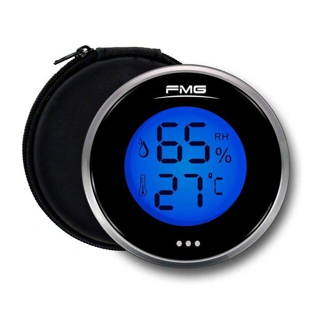 الرقمية هوميدور ميزان الحرارة مقياس الرطوبة الرطوبة ل السيجار التبغ خزانة مشروبات المنزل المطبخ غرفة الطفل مقياس الحرارة