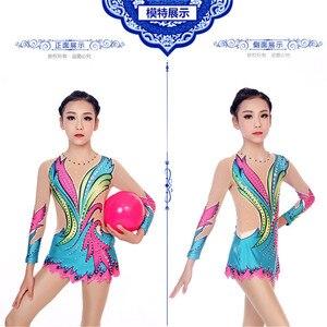 Женское платье для фигурного катания LIUHUO, платье для фигурного катания для девочек, одежда для соревнований, одежда для художественной гимн...