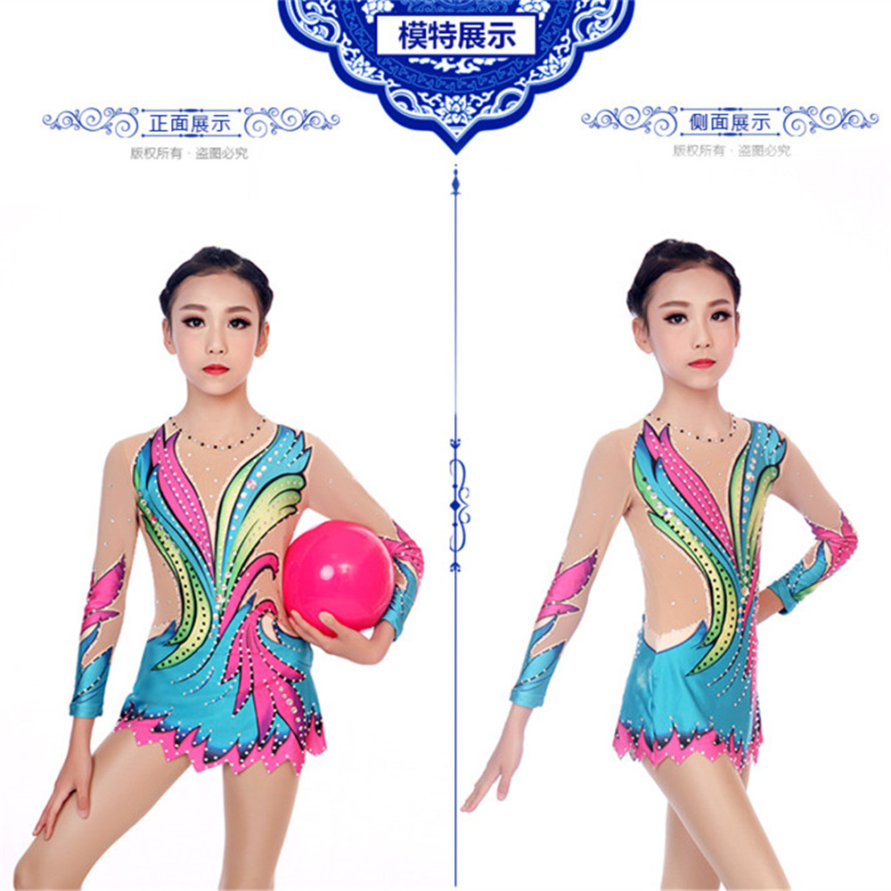 LIUHUO Figure Skating Dress Women's Girls' Ice Skating Competitive Performance Clothing Rhythmic Gymnastics Ballet Costume Kids