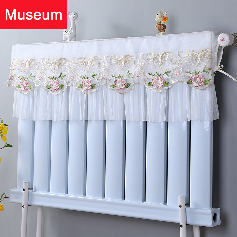 Warm Love Heating Cover Can Countryside Fabric Art Heating Cover Heating Dustproof Cover Lace Old-fashioned Radiator Cover
