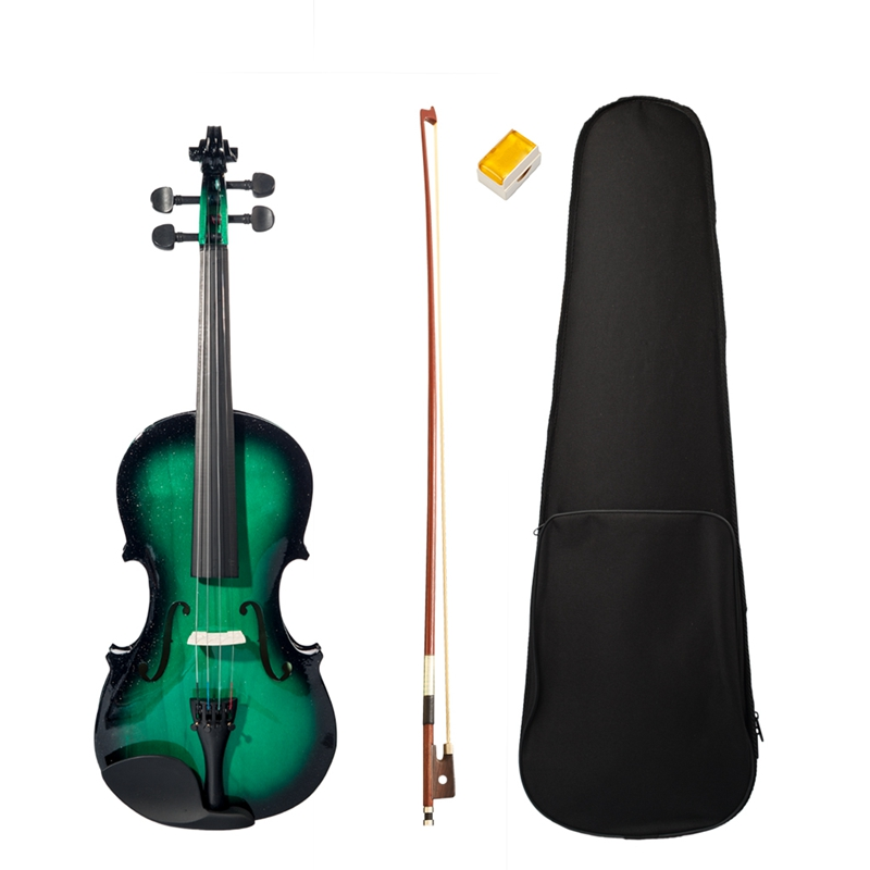 Beginner High Quality Violin 4/4 Full Size Violin with Violin Case Bow