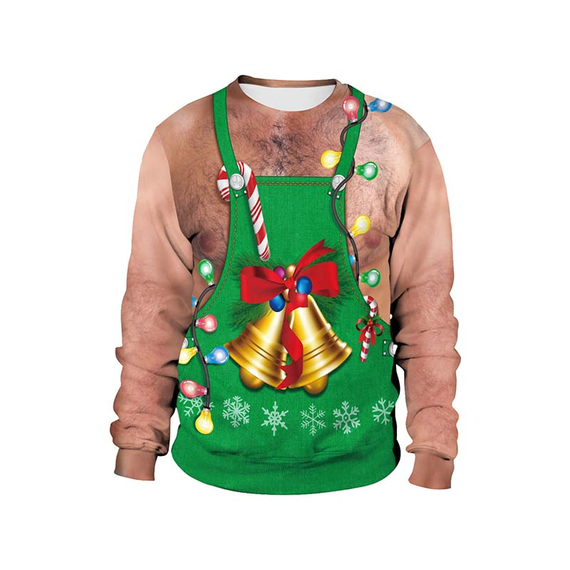 Ugly Christmas Sweater Men Women Fashion Funny Xmas Pullover Funny Hoodie Sweatshirt Vacation Pull Homme Pullover Hoodies