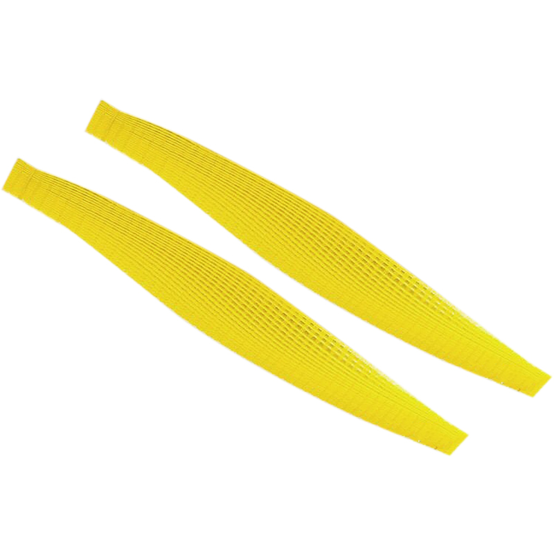 GTBL 100PCS Plastic Empty Chain Belt Screw Tape Empty Screw Band For Auto Feed Screwdriver Tape For A Screwdriver Yellow