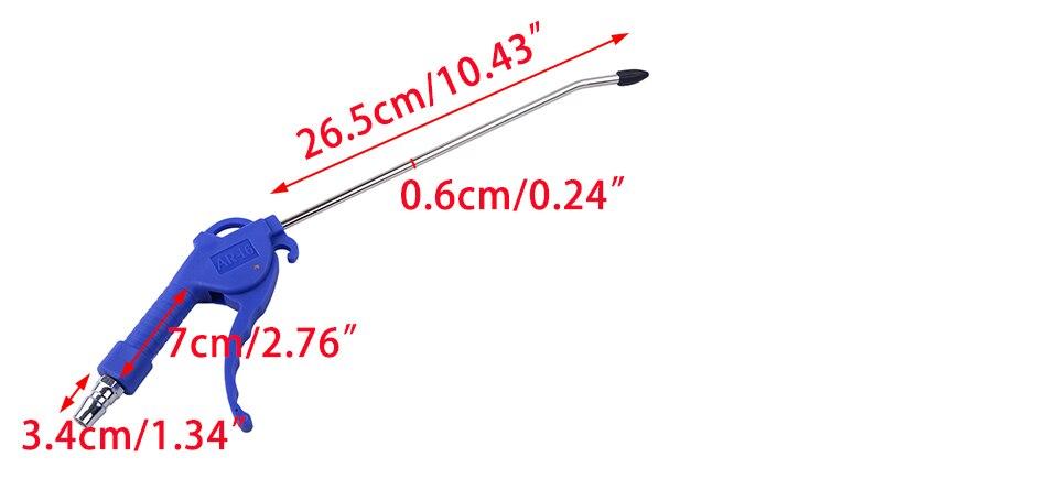 Beler 2 мм ручка офсетный наконечник Угловое сопло пылеуловитель Воздушный пистолет сцепление пыли воздуходувка инструмент для очистки оборудования машины