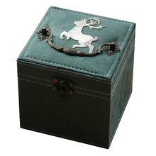 Ручная вышивка коробка для хранения ювелирных изделий простой