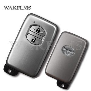 Image 2 - 2 Buttons Sliver 433MHz ASK A433 Board ID74 WD04 Smart Remote Key For Toyota Highlander Land Cruiser 200 MDL B53EA Keyless Go