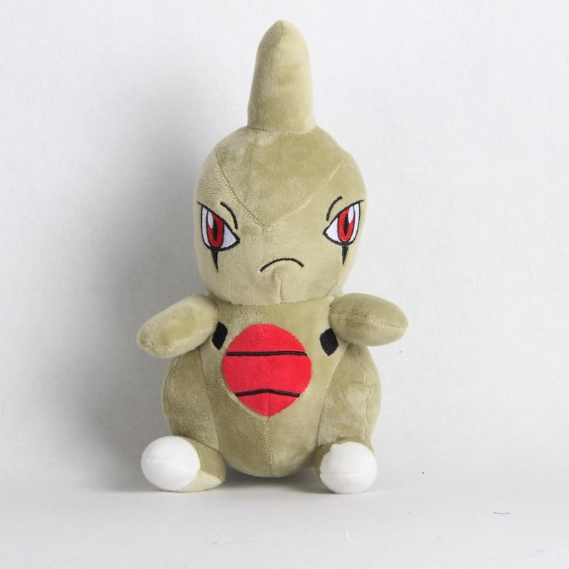 1pcs 20cm Larvitar Plush Toys Doll Kawaii Cartoon Larvitar Pendant Soft Stuffed Toys For Children Kids Birthday Christmas Gift