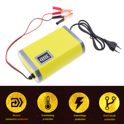Charger 12V 2A Motor Car Battery Charger Full Smart Maintainer Trickle For Car / Motorcycle
