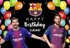 Barcelona Messi Soccer Football Theme Photo Backdrop Background Photography Photo Vinyl Birthday Party Decoration Kids Childrens flash sale