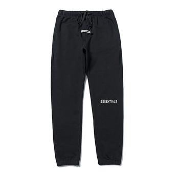 2020 najlepsza jakość Essentials z nadrukowanym Logo damskie męskie spodnie do joggingu spodnie dresowe odzież Streetwear w stylu hip-hop luźny krój męskie spodnie na co dzień tanie i dobre opinie Fear of God HIP HOP Cztery pory roku COTTON CHINA Daily Elastyczny pas Mieszkanie Pełna długość REGULAR NONE średniej wielkości