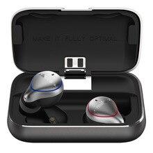 Mifo O5 Bluetooth TWS Auricolari Senza Fili IPX7 Auricolare Bluetooth Sport Stereo Suono handfree Auricolari con Casella di Ricarica per il Telefono