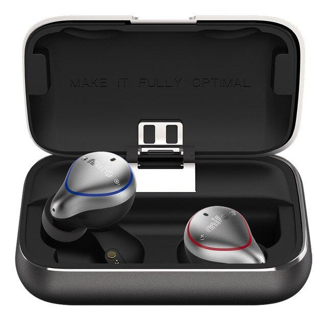 Mifo O5 Bluetooth TWS אלחוטי אוזניות IPX7 Bluetooth אוזניות ספורט סטריאו קול handfree אוזניות עם טעינת תיבת עבור טלפון