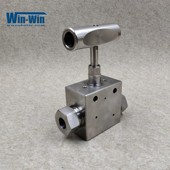 Water Jet 10078889/A-0788-5 HP Hand Valve, Straight 9/16 IN Stainless steel For Waterjet KMT Machine waterjet spare parts safety valve for dardi water jet cutting machine