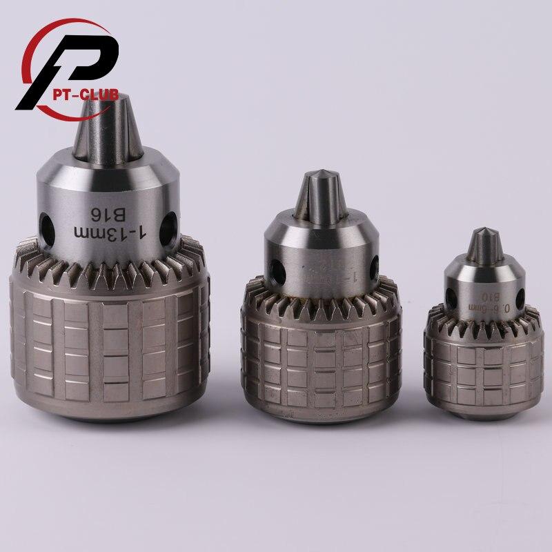 1PC Drill Chuck B10 B16 B18 0.6-6MM 1-13MM 1-16MM Chuck Tool Drill Heavy Duty For Drilling CNC Machine