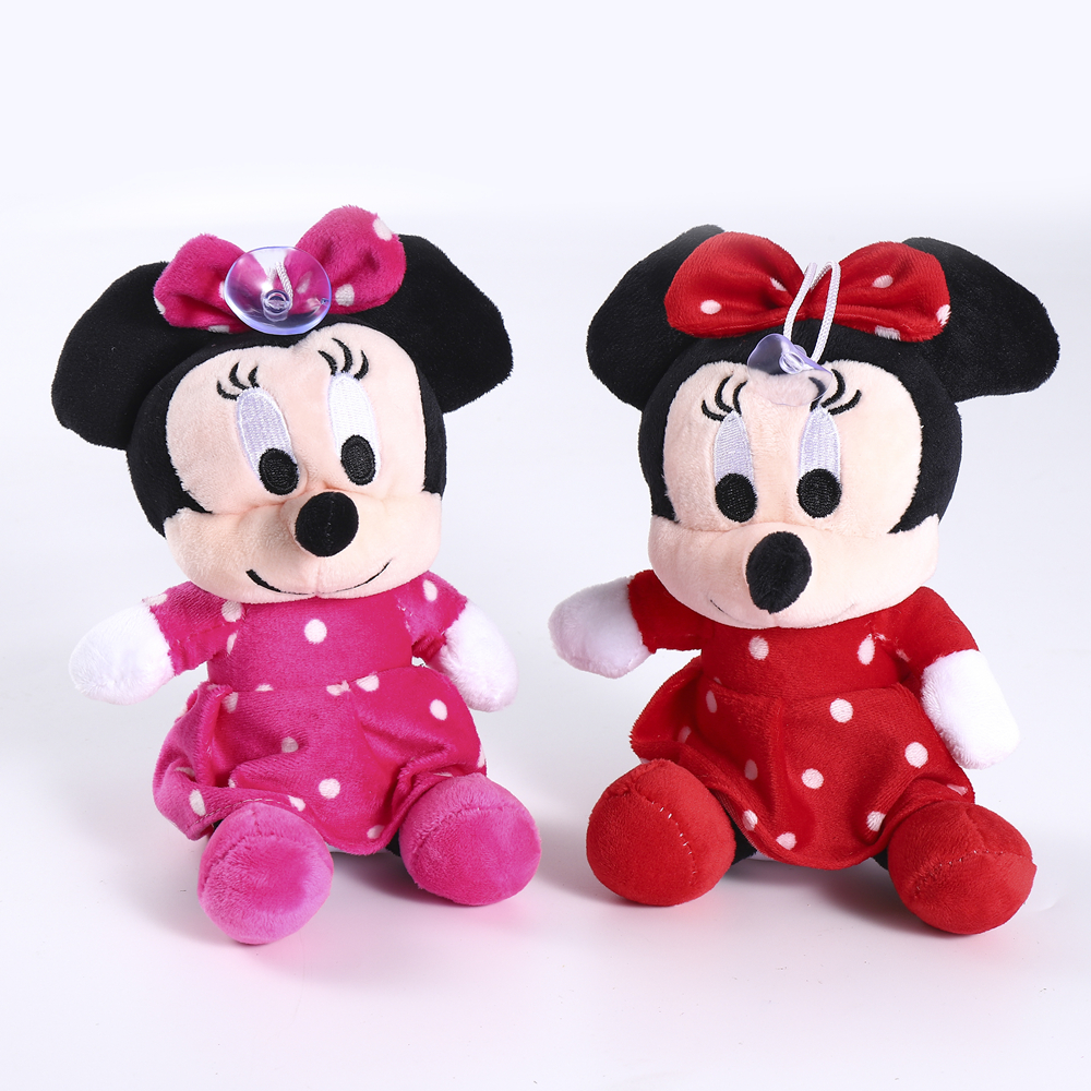 Hot 18-20cm High Quality Stuffed Mickey&Minnie Mouse Plush Toy Dolls Birthday Wedding Gifts For Kids Baby Children