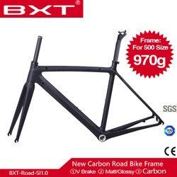 BXT rama karbonowa rower szosowy T800 UD węgla rowerów ramek węgla 700c Bicicleta węgla rama rowerowa v-brake droga rowerowa ramek