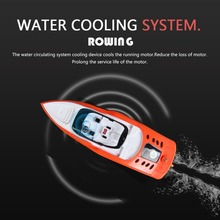 High Speed RC Boat 2.4GHZ 4 Channel 30km/h Radio Remote Control RC Racing Boat Electric Toys RC Toys for Childern Gifts