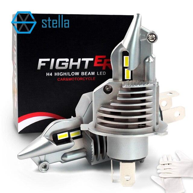 Stella H4/9003/HB2 HA CONDOTTO il faro lampadine 12V 24V 70W 11600LM diodo lampade per auto alta fascio fascio anabbagliante nebbia luci auto circuito integrato di alta qualità