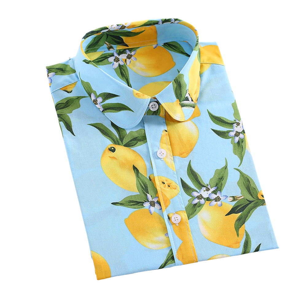 Dioufond Blouse Women Plus Size Tops 2019 Vintage Floral Print Shirts Ladies Casual Loose Casual  Long Sleeve Blusas Femininas