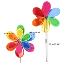 Sequins Insect Windmill Whirligig Wind Spinner Home Yard Garden Decor Kids Toy 72XF