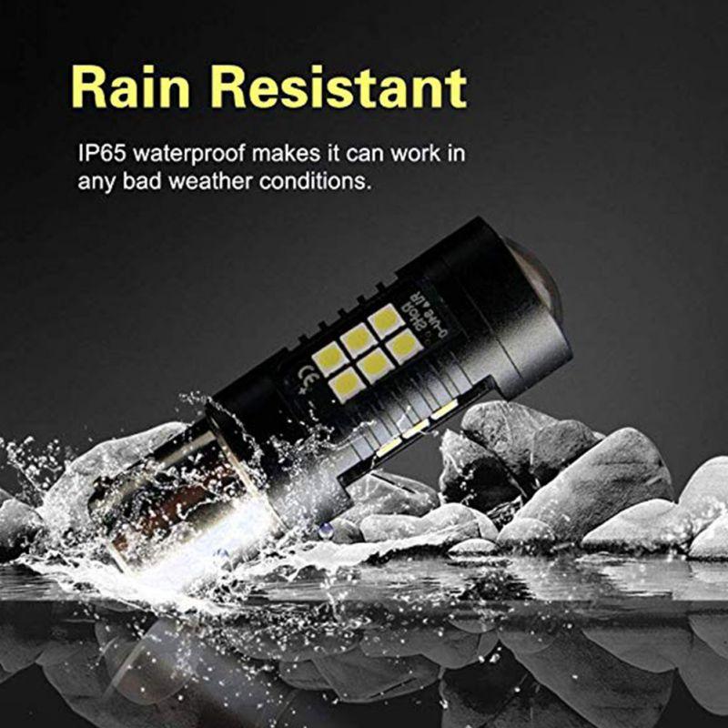 New 2PCS LED Auto 1156 BAU15S PY21W Waterproof Car LED Headlight Front Light Bulb Super Bright