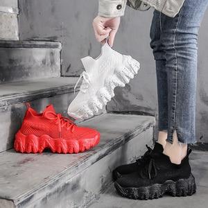 Image 2 - BIGFIRSE  Women Casual Shoes Trend  Rubber Woman Fashion Sneaker Vulcanized Shoes Zapatillas Mujer 2020 Fashion Shoes For  Women
