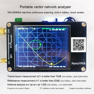 NanoVNA Nano VNA Vector Network Analyzer Antenna Analyzer Standing Wave(China)