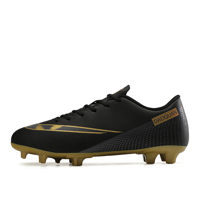 2021 New Arrival Men's Soccer Shoes Large Size Ultralight Football Boots Boys Sneakers Non-Slip AG/TF Soccer Cleats Ankle Boots 21