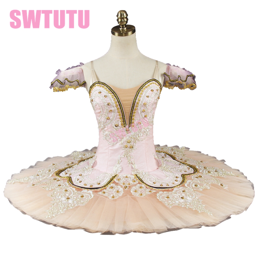 nutcracker tutu professional ballet for performance or competition adult beige sleeping beauty BT9044D