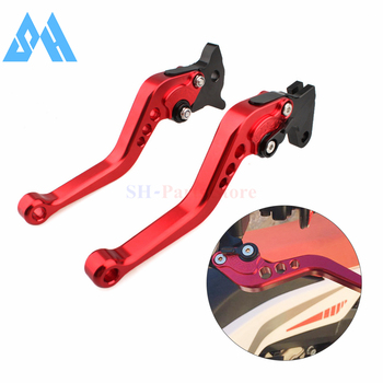 Red Short Brake Clutch Levers For Honda CB300R CBR250R CBR300R CB300F CBR500R CB500F CB500X GROM MSX125 NSR50 Z125 monkey bike image