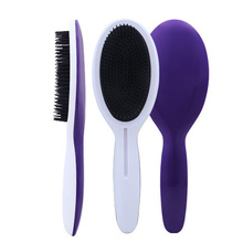 Новейшая расческа для волос с круглым изогнутым дизайном, популярная расческа для волос, расческа для волос, T-009812 с длинной ручкой для ухода за волосами