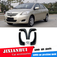 For Toyota VIOS 2008-2012 Mudflaps Splash Guards Front With the color and rear Mud Flap Mudguards Fender Modified special