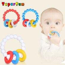 Teether Organic Silicone Baby Bracelet BPA Free Teething Beads Nurse Gift Food Grade Toy Chewable