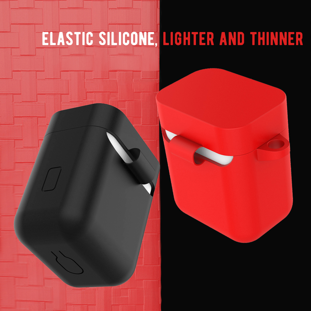 Silicone Shockproof Earphone Case For Xiaomi Air Pro Bluetooth Wireless Headset Protection Case Protective Cover For Xiaomi Air