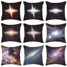Cushion-Cover Pillowcase Couch Party-Decoration Throw Hole Black Chair-Rest Stellar